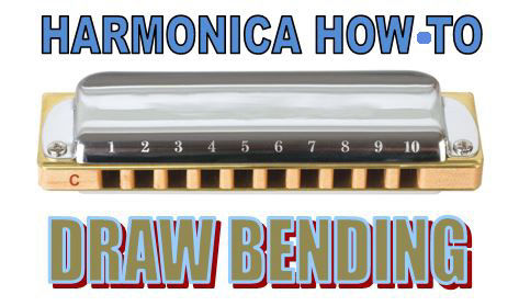 Learn the draw bending on harmonica