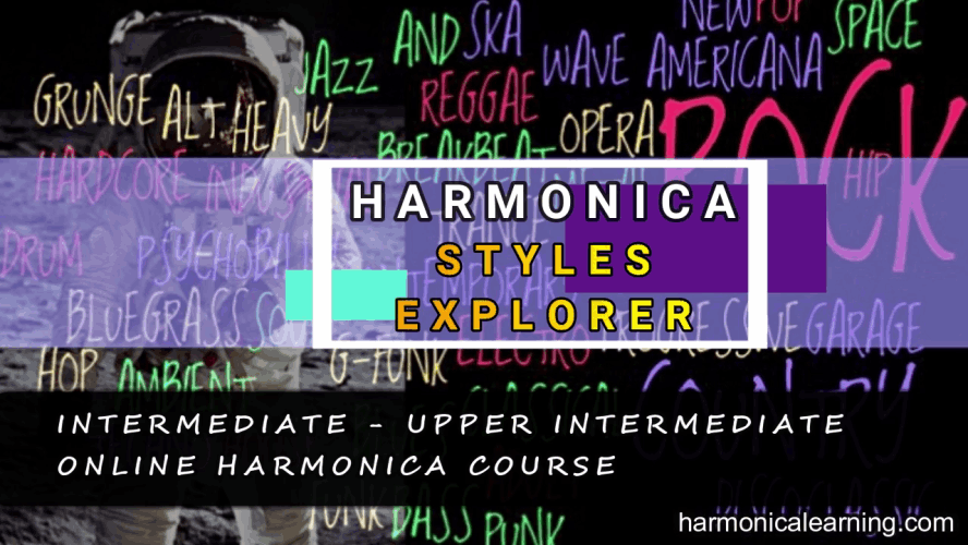 Harmonica school course - The music styles explorer