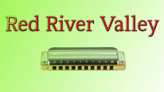 Red River Valley on harmonica logo