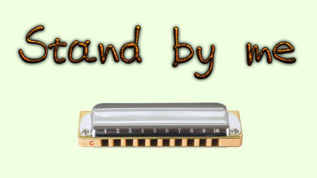 Stand By Me on harmonica logo