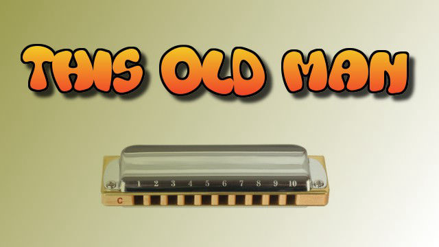 This old man on harmonica logo